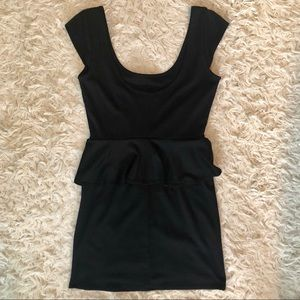 Accidentally in Love LBD Black Dress Size Small